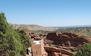 Red Rocks Looking toward Denver
